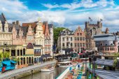 Photo Canal in old town in Gent