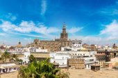 Fotografie Panoramablick von Sevilla