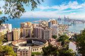 Fotografie Panoramic view of Malaga