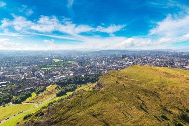 Cityscape of Edinburgh from Arthur's Seat