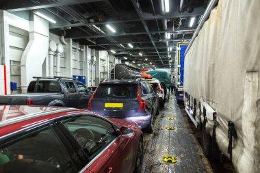 Ferry ship in Scotland