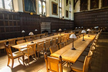 Interior of Magdalen College