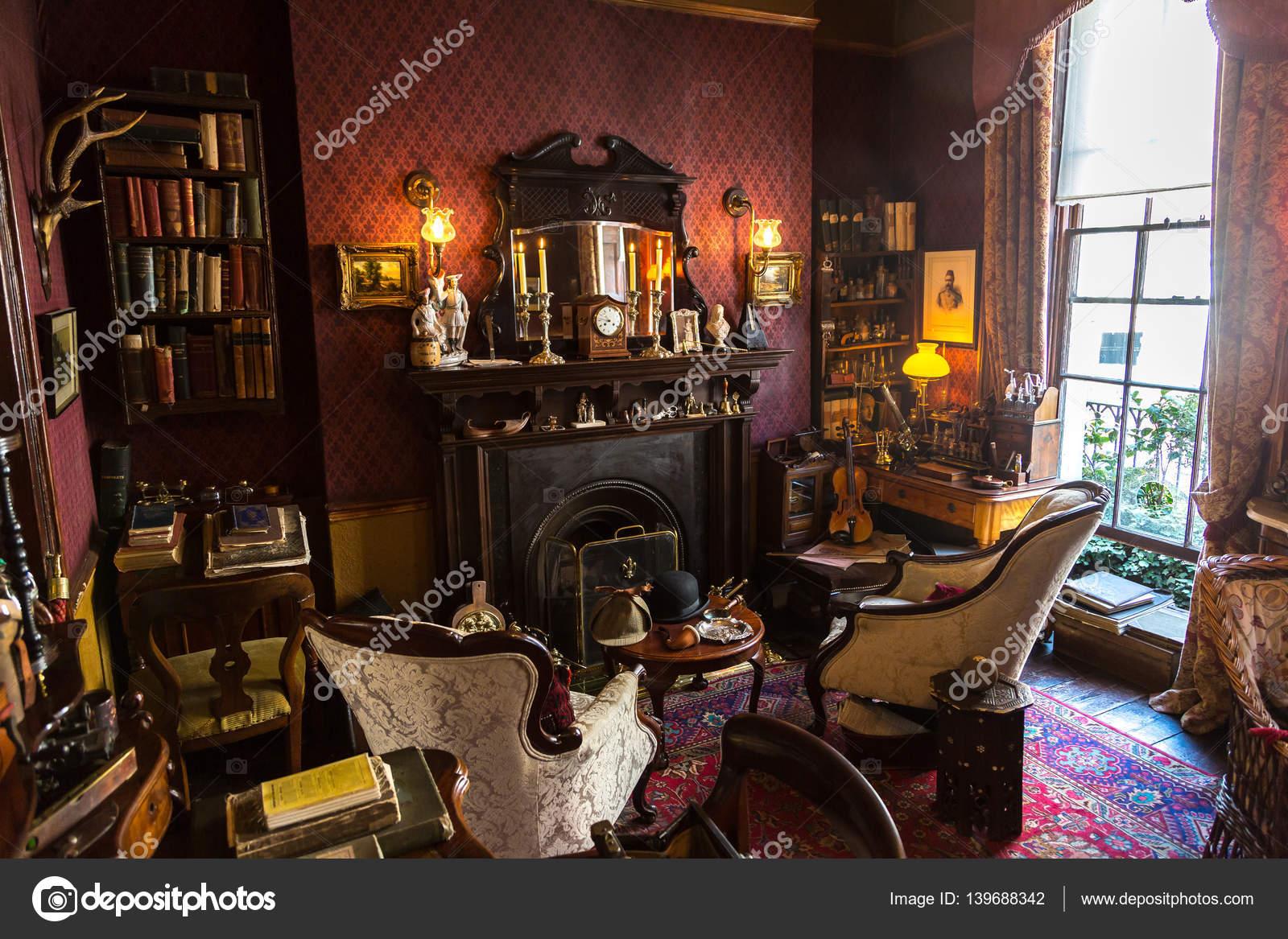 Sherlock Holmes Living Room