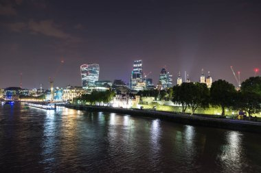 London at beautiful summer night