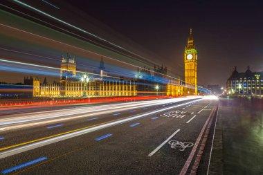 London Big Ben and traffic