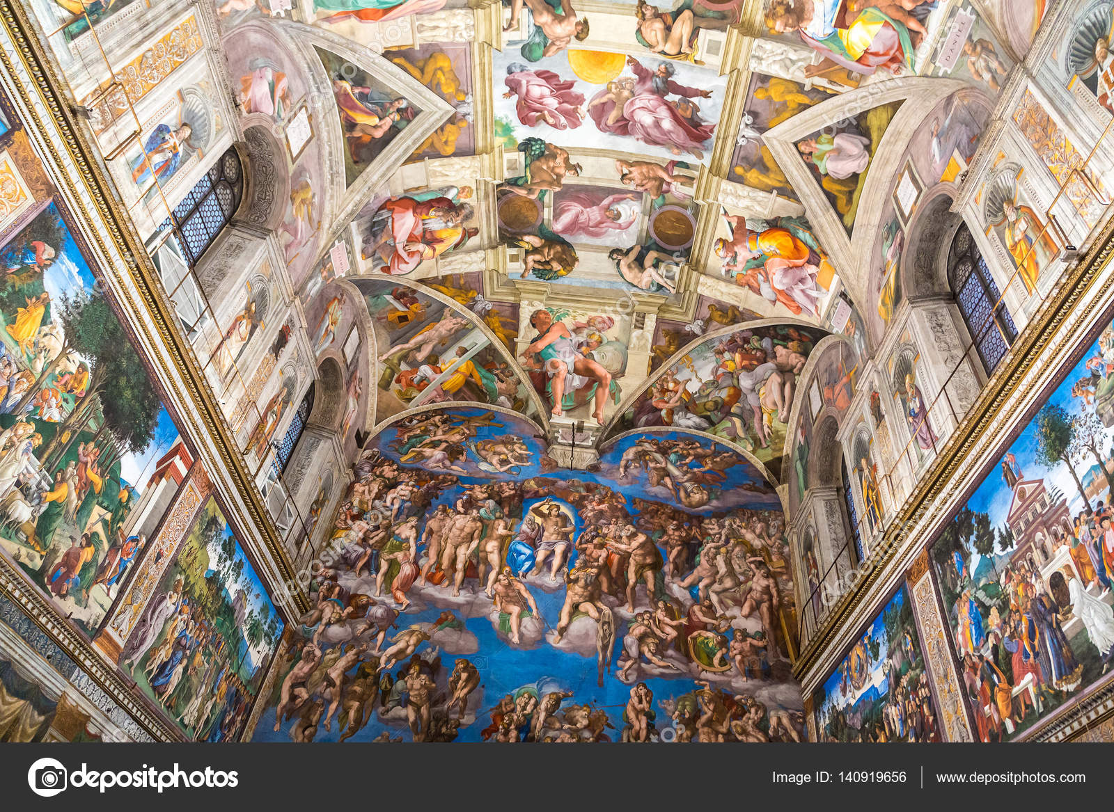 Ceiling Of The Sistine Chapel Stock Editorial Photo C Bloodua