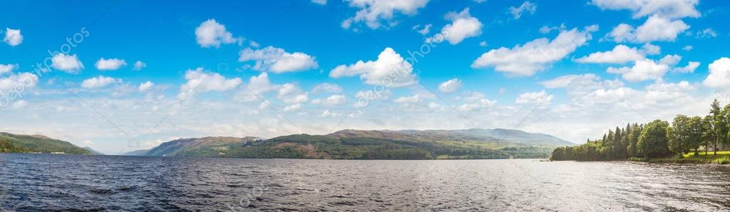 Beautiful view of the Loch Ness