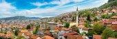 Fényképek Szarajevó légi panoráma