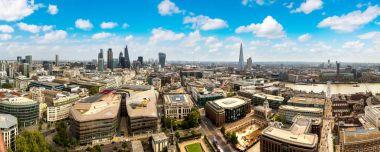 Panoramic aerial view of London