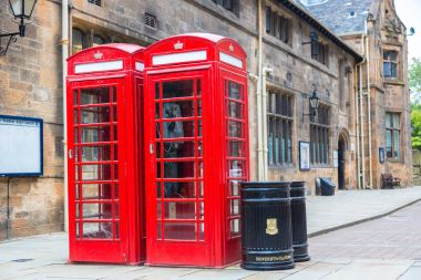 Red Telephone Boothes