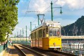 Fényképek Retro villamos Budapesten