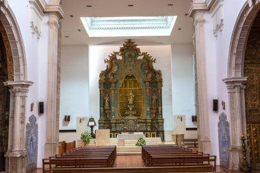 The Cathedral of Aveiro interior