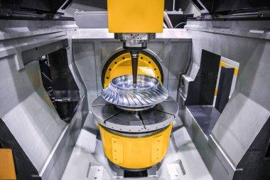 Metalworking CNC milling machine.