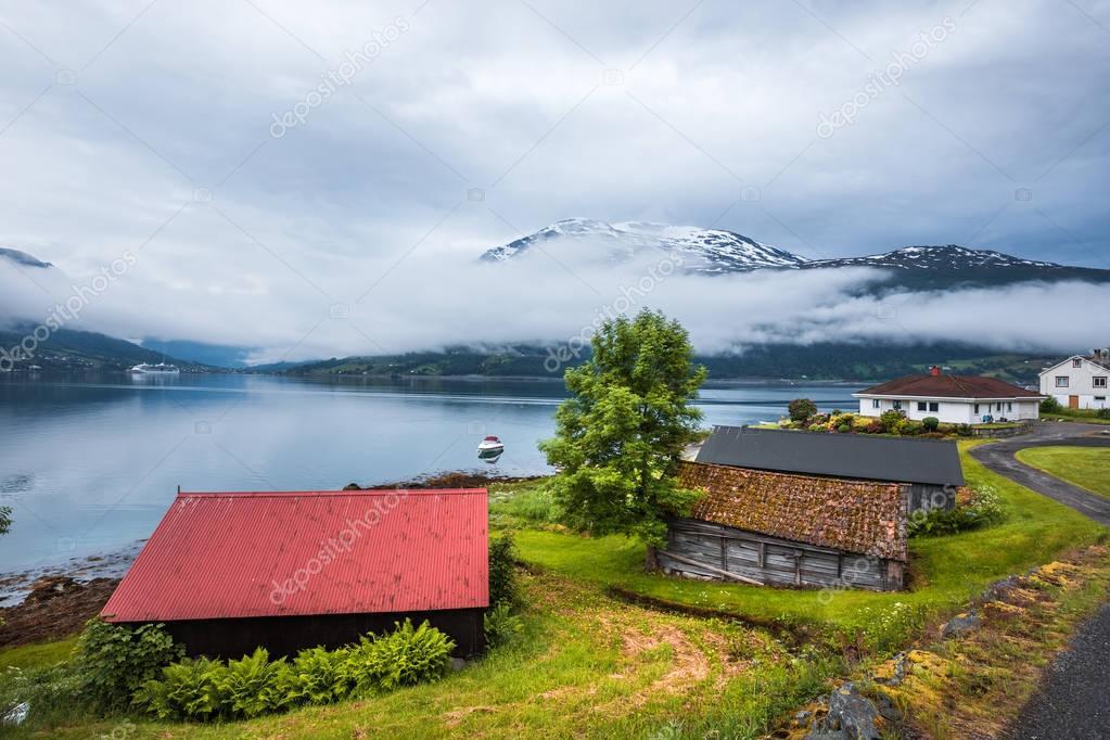 Фотообои Красивая Природа Норвегии.