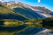 Fotografie Krásná příroda Norsko.