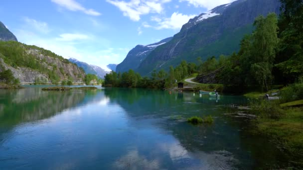 Geiranger fjord road, Norway. It is a 15-kilometre (9.3 mi) long branch off of the Sunnylvsfjorden, which is a branch off of the Storfjorden (Great Fjord).
