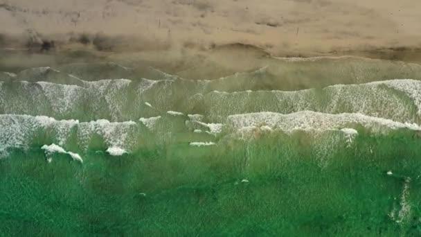 abstraktní vlna moře pláž na horní pohled.