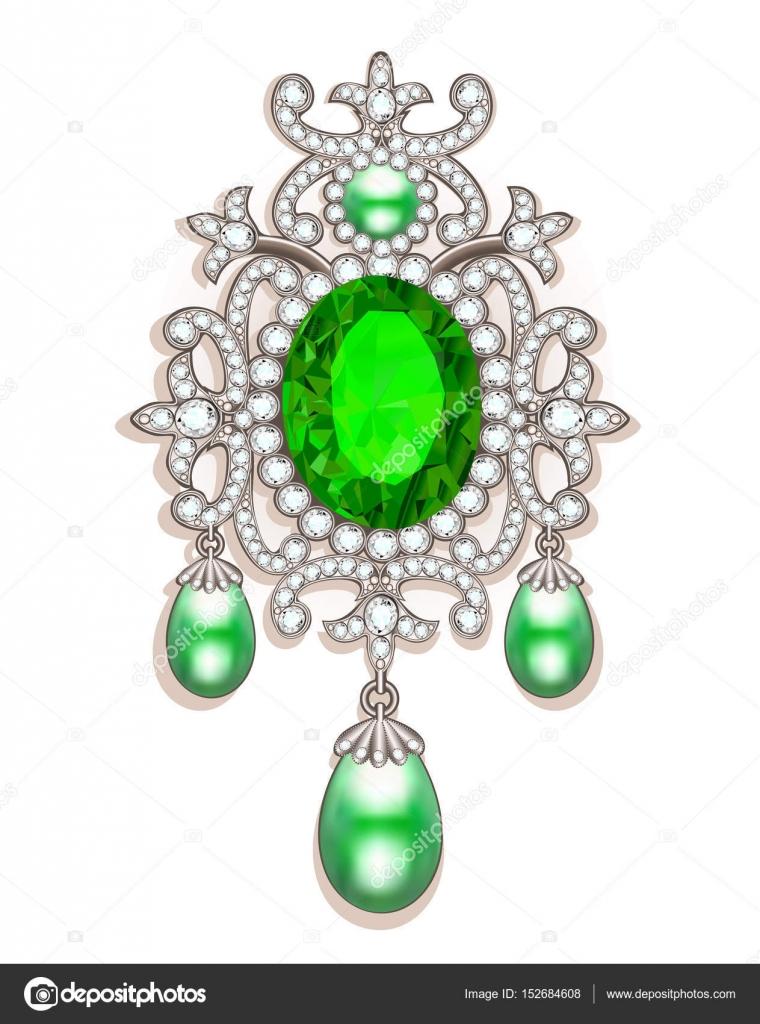 otra oportunidad mejor lugar para Precio 50% Broches de piedras preciosas | Broche con perlas y piedras ...