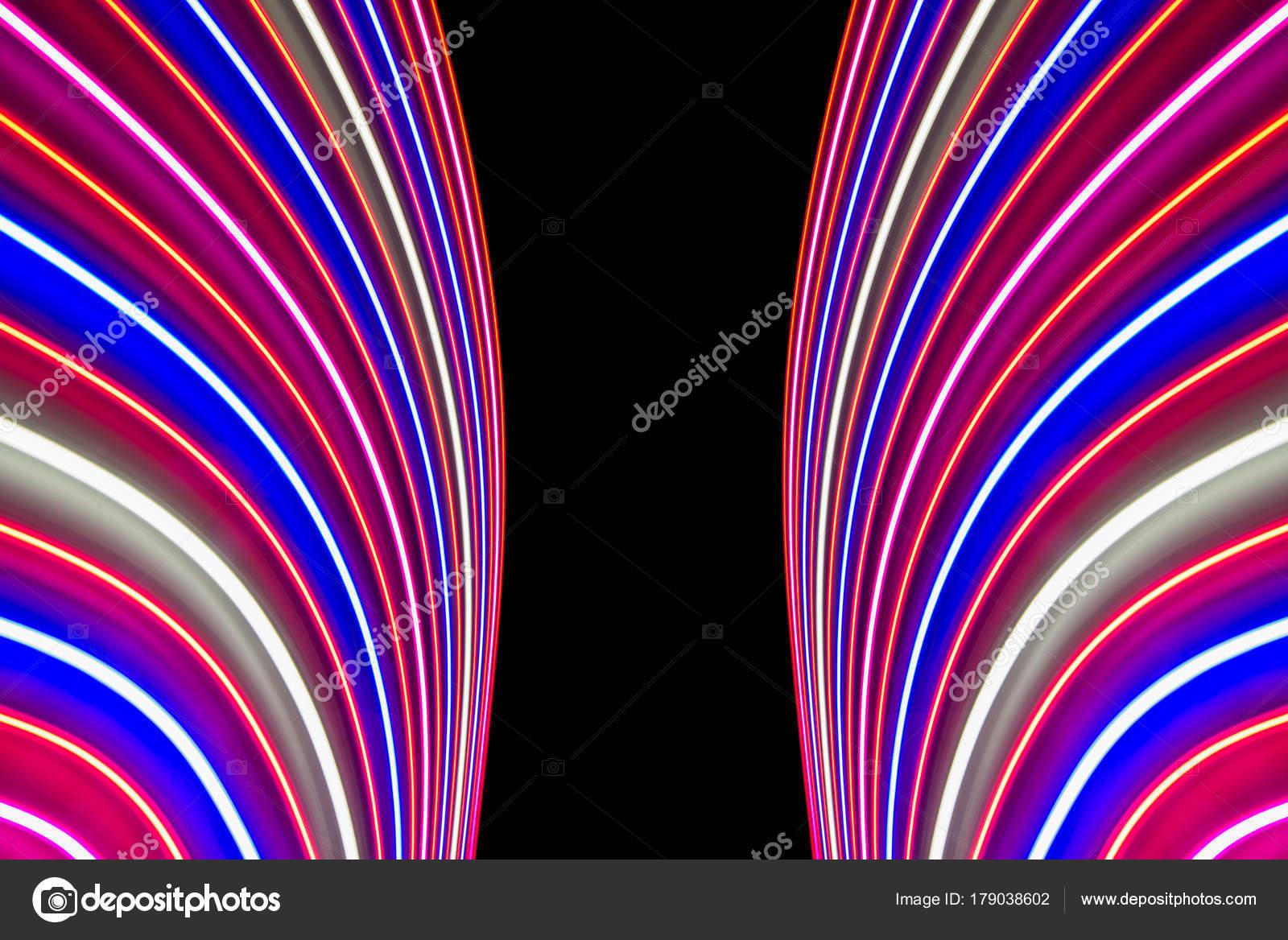 Led Linienle schönes licht unscharf hintergrund led linien und streifen