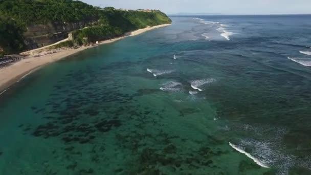 Aerial View of the Ocean, Beach, Rocks and Stones, Ocean Waves