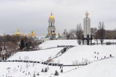 Kiev-Pechersk Lavra and Holodomor Museum in Kiev