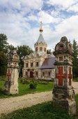 Fotografie Alte Russisch-orthodoxe Kirche in Muromtsevo