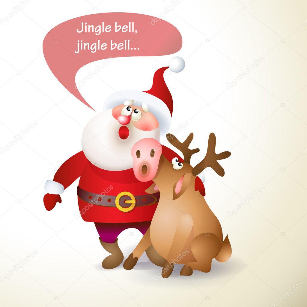 weihnachten weihnachtsmann — Stockvektor © Valenty #126757704