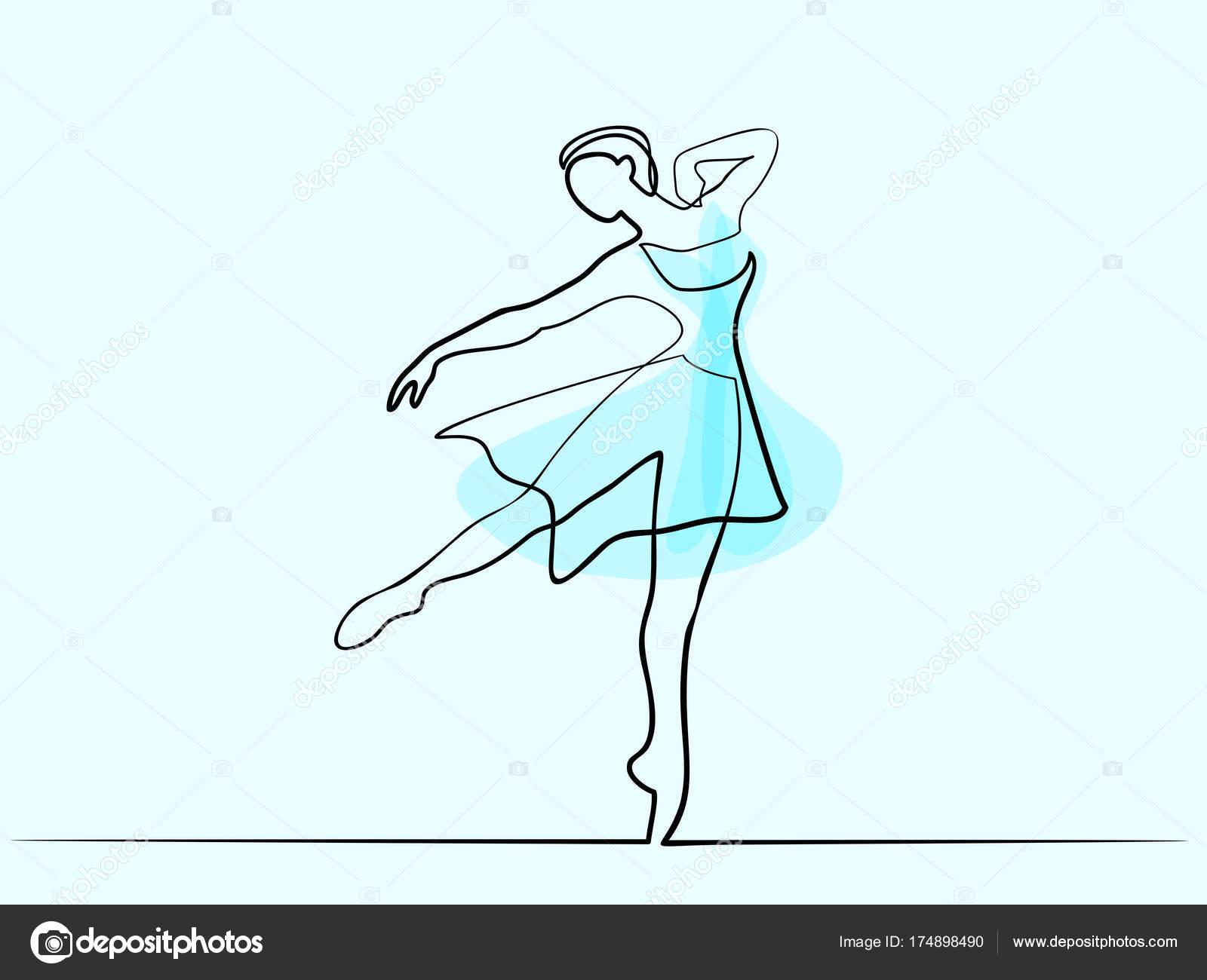 Dibujos Bailarinas De Ballet Bailarina De Ballet Clásico Bailarín