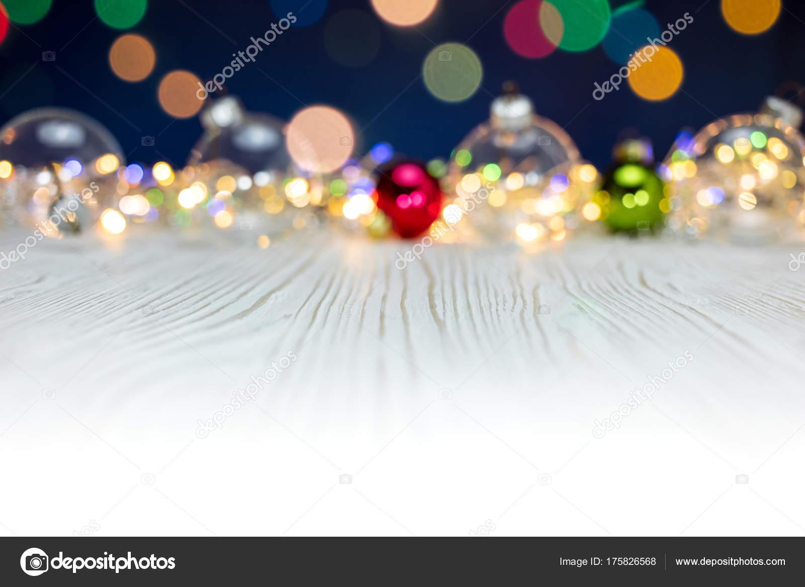 Tło Uroczysty Kolorowe Niewyraźne Oświetlenie świąteczne I