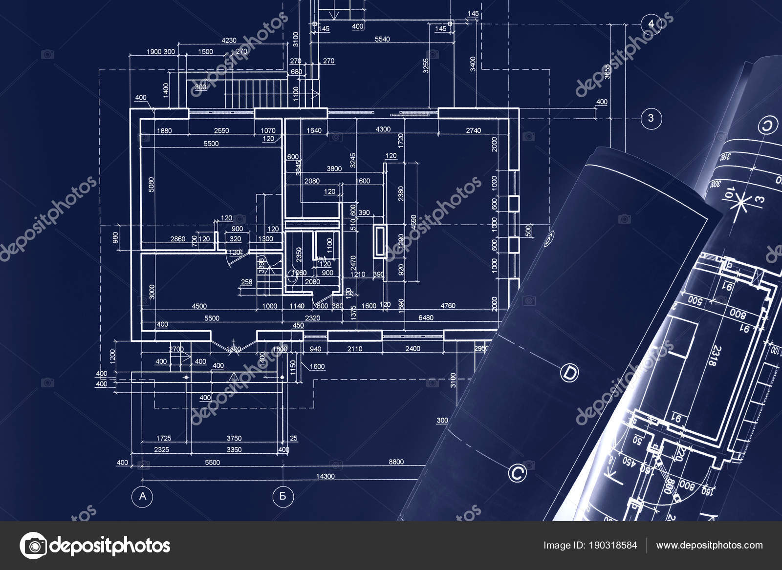 Civil building sketch drawings rolled blueprints on dark blue civil building sketch drawings rolled blueprints on dark blue surface architect workplace background double exposure photo by mrtwister malvernweather Image collections