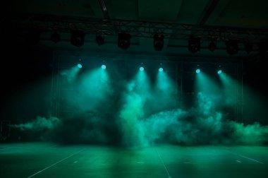 Illumination, light on the stage at the disco