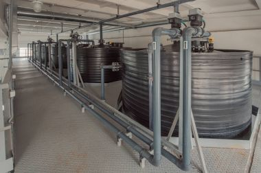 Modern urban water treatment system