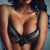 Fotografie Sexy žena prsa