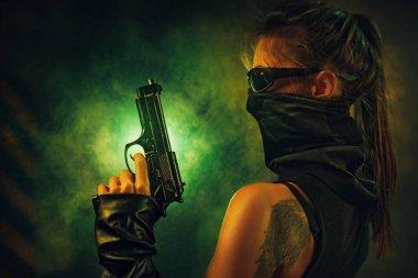 Dangerous woman fighter