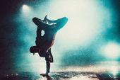 Fotografie Young man dancing