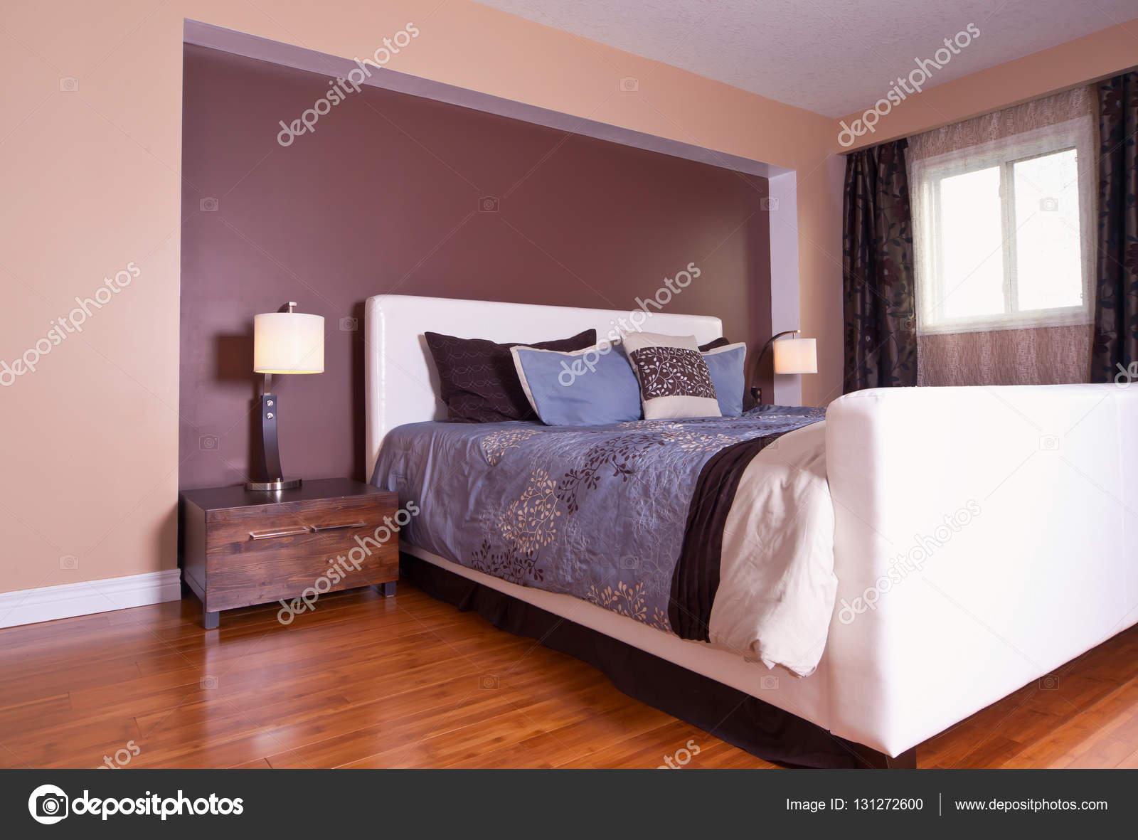 Design d\'intérieur chambre à coucher moderne appartement ...