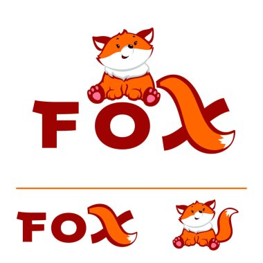Red Fox Logo Template