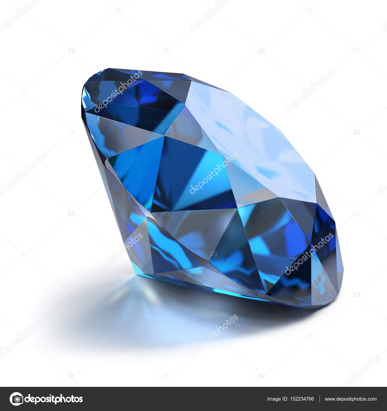 karat estate diamond and ring sapphire large blue pin