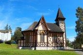 Kostel v Starý Smokovec, Vysoké Tatry, Slovensko