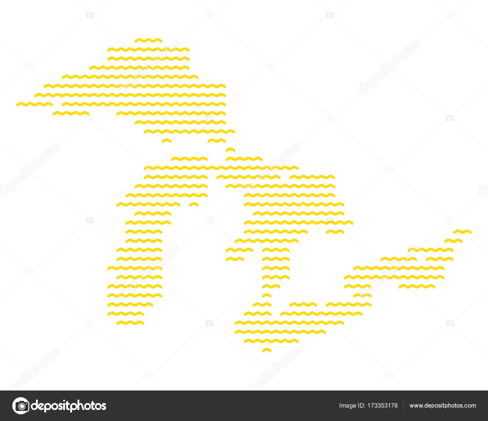 map of great lakes stock vector rbiedermann 173353178