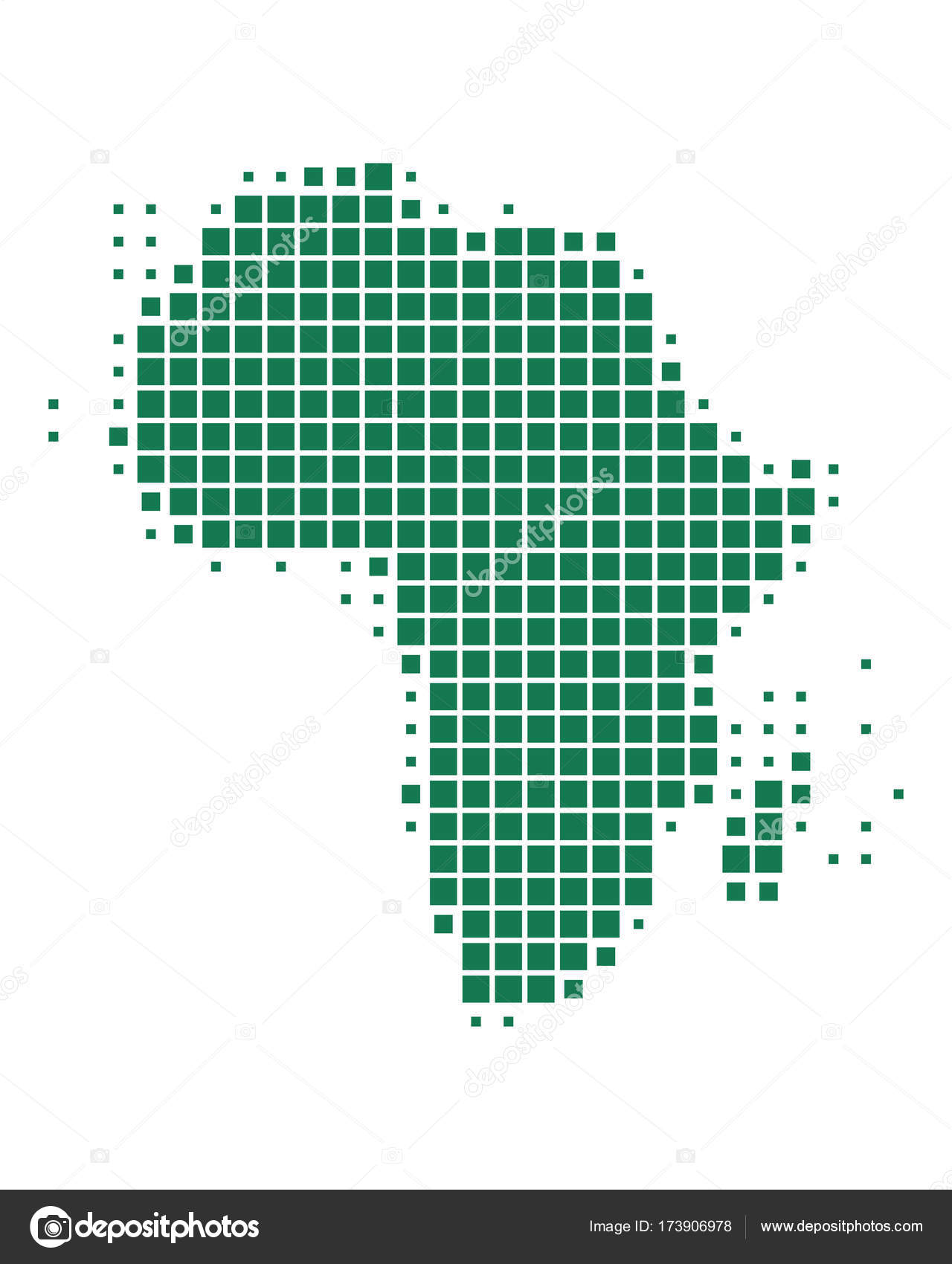 Accurate Map Of Africa.Accurate Map Of Africa Stock Vector C Rbiedermann 173906978