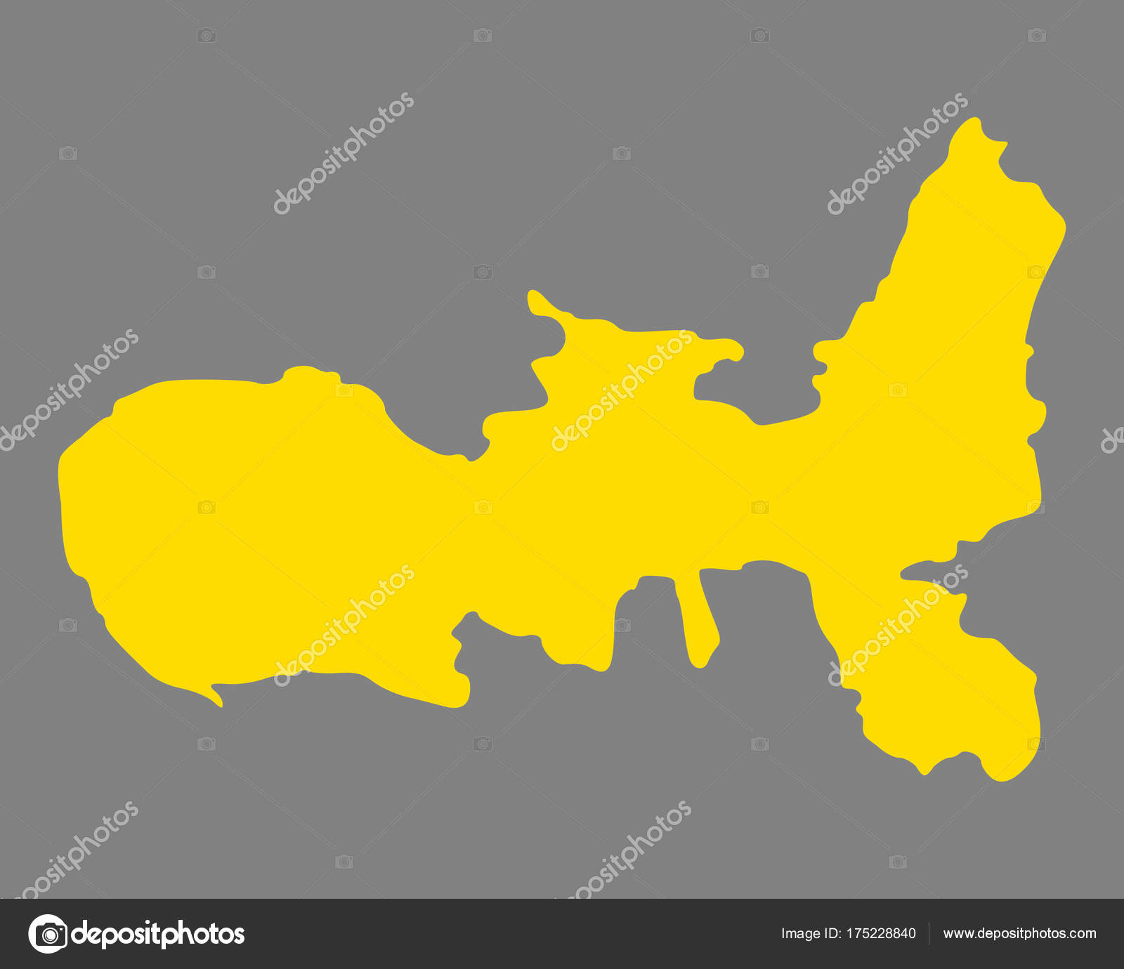Insel Elba Karte.Genaue Karte Der Insel Elba Stockvektor Rbiedermann 175228840