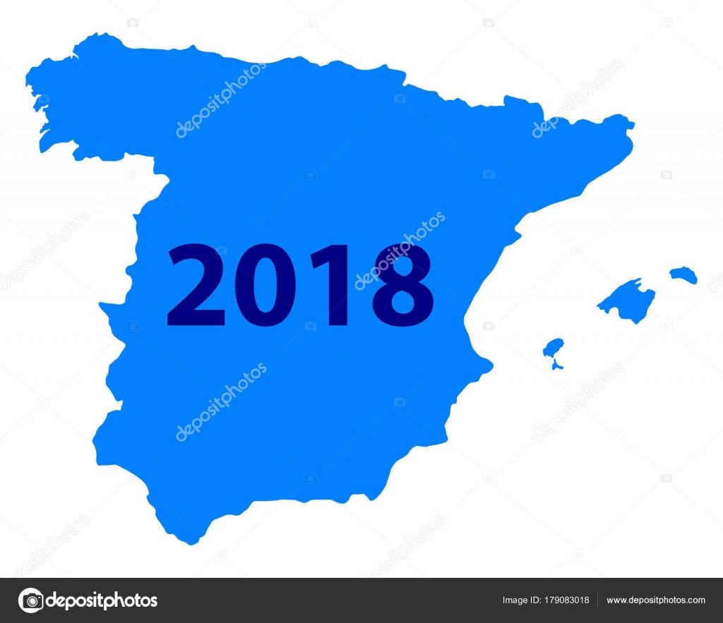 carte espagne 2018