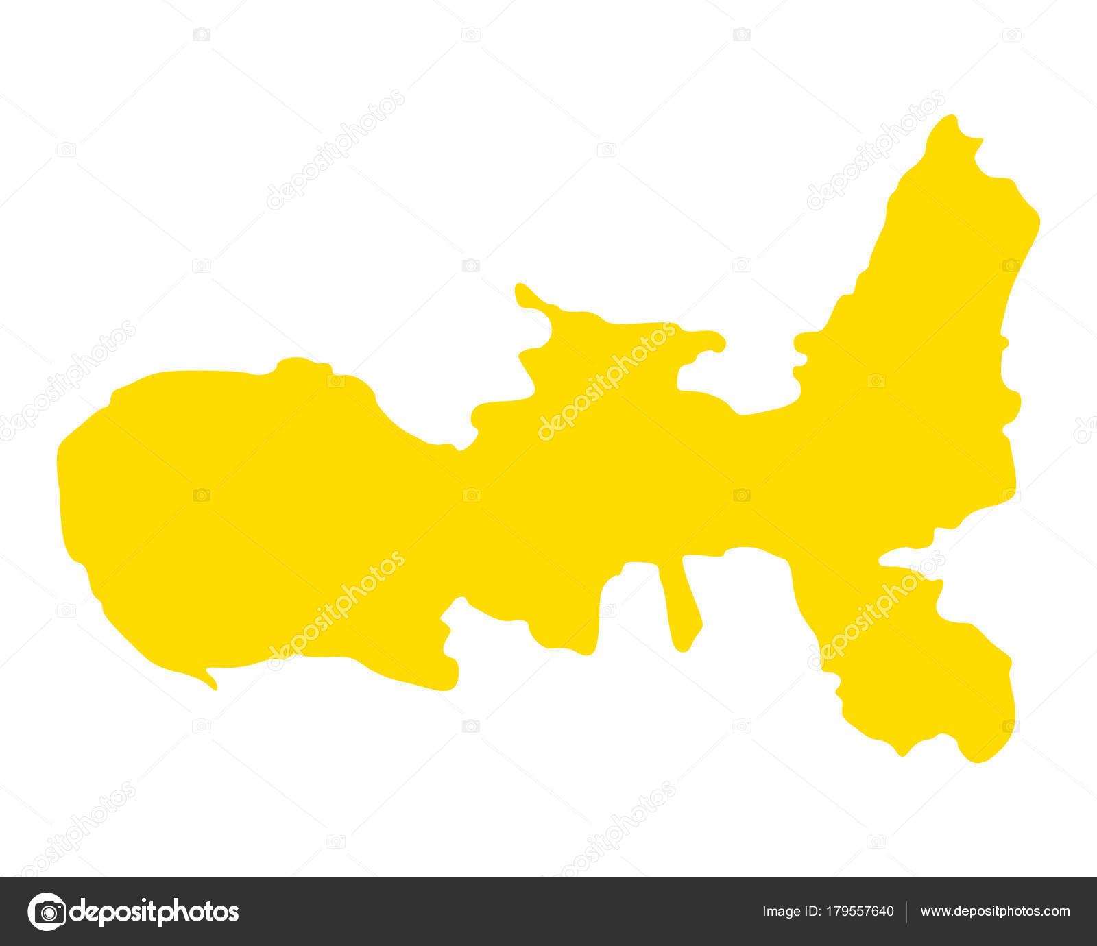 Insel Elba Karte.Genaue Karte Der Insel Elba Stockvektor Rbiedermann 179557640
