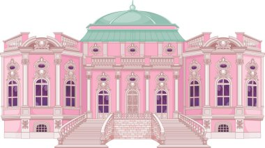 Princess romantic palace