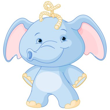 cartoon elephant baby