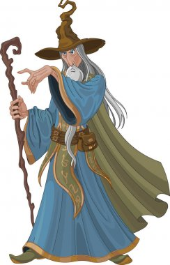 style wizard with staff