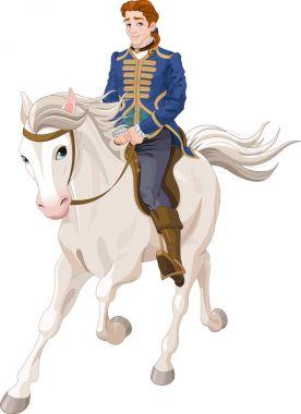prince riding horse