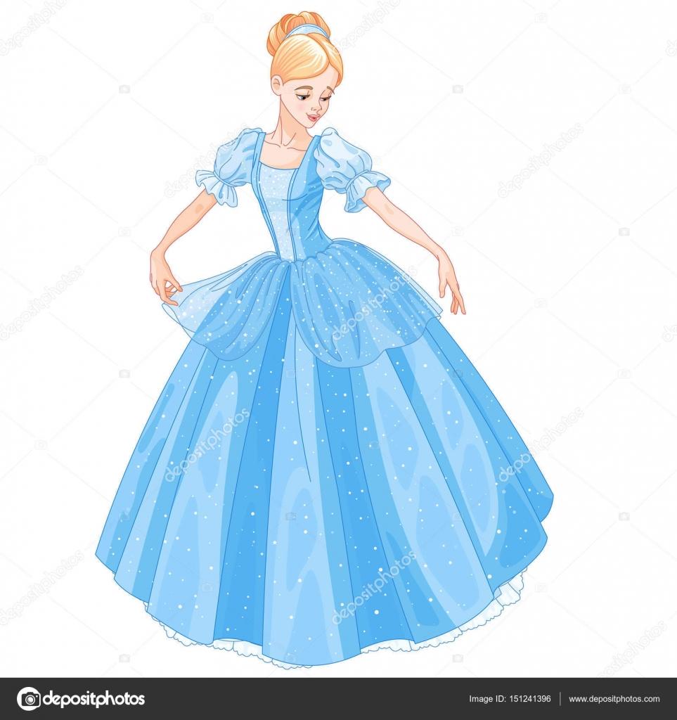 Cinderella Dresses Stock Vector Illustration Of Isolated: Stock Vector © Dazdraperma