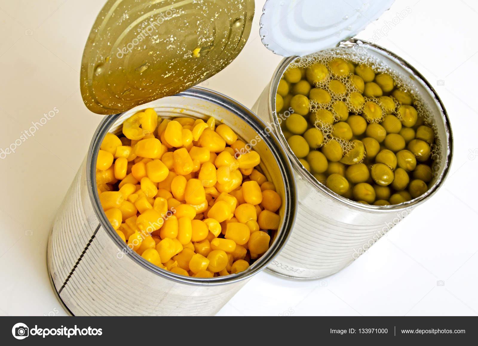 Mısır konserveleri - her masada